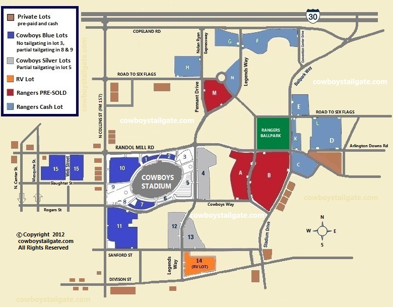Cowboys Stadium Parking